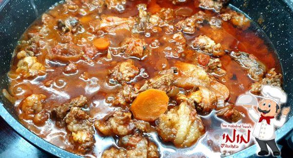 תבשיל אסאדו מפורק, בבישול ארוך על הכיריים, ללא הרבה נוזלים_מתכון של טלי כהן שטרלינג