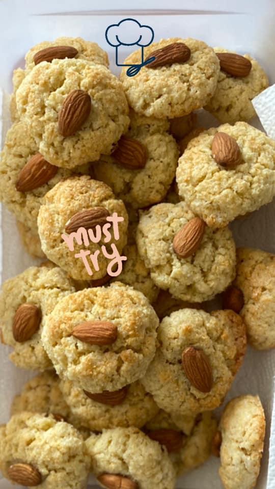 עוגיות עירקיות – חג׳יבדה ❤️_מתכון  של מרי שקד שירזי