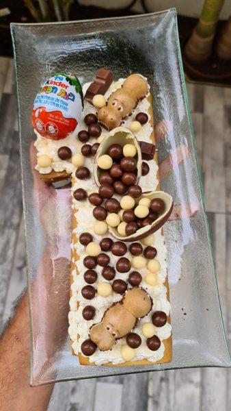 עוגת מספרים מבצק פריך❤_מתכון של אילנה בוכריס