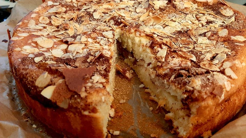 עוגת קינמון😋_מתכון של ברכה זולינג