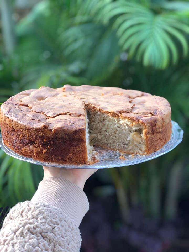 עוגת תפוחים משגעת ❤_מתכון של אילנה בוכריס