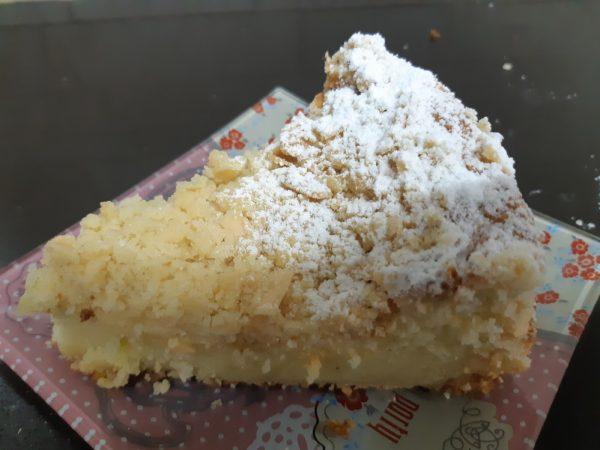 עוגת לימון,שקדים וקארמבל שקדים_מתכון של אורנה ועלני