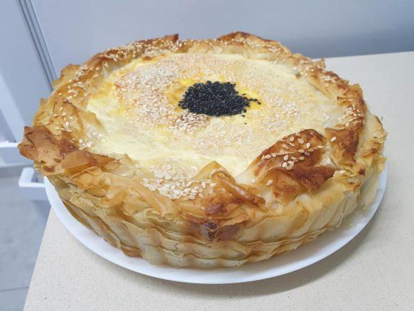 מאפה פילו במילוי גבינות ותרד❤בניצה ❤_מתכון של ירדנה ג'נאח