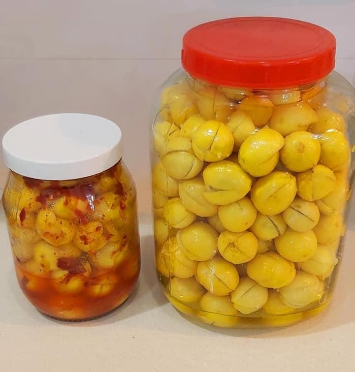לימון ננסי כבוש במלח,לימון ננסי כבוש באריסה_מתכון של רוז טעים במטבח אוחנה