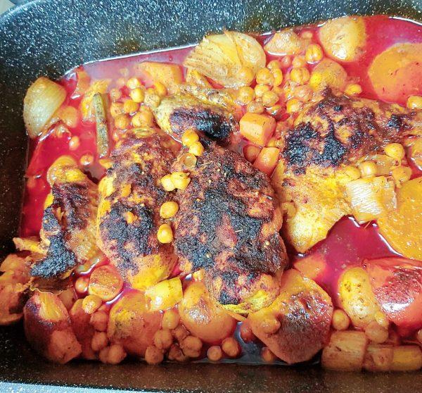 קדרת עוף וירקות_מתכון של רוז טעים במטבח אוחנה