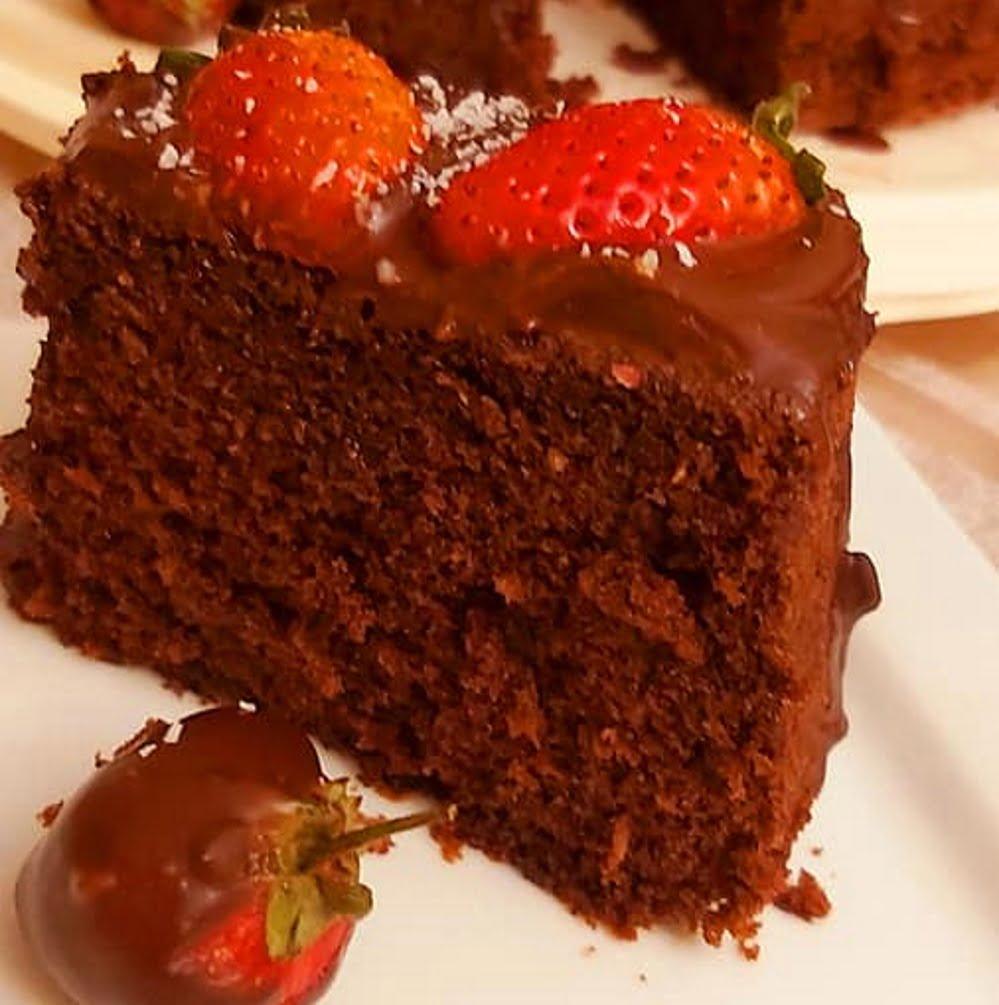 עוגת שוקולד🍓 קוקוס ותותים_מתכון של רוז טעים במטבח אוחנה