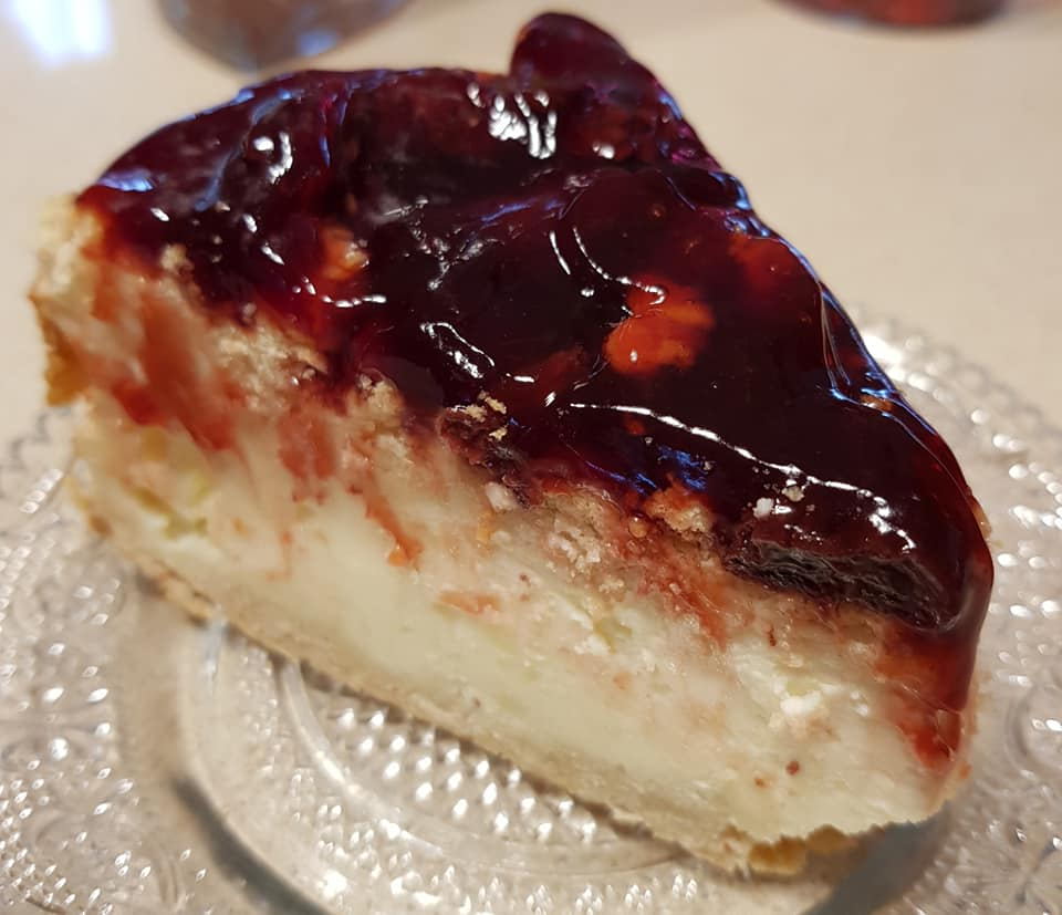 עוגת גבינה אפויה על בסיס בצק פריך_מתכון של נורית יונה