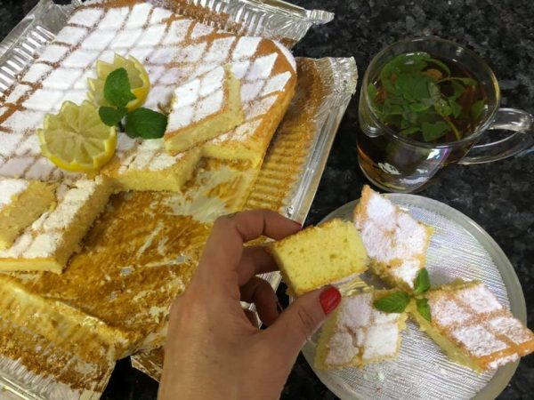 עוגת יוגורט לימונית תפוזית קוקוסית חלומית_מתכון של נורית יונה