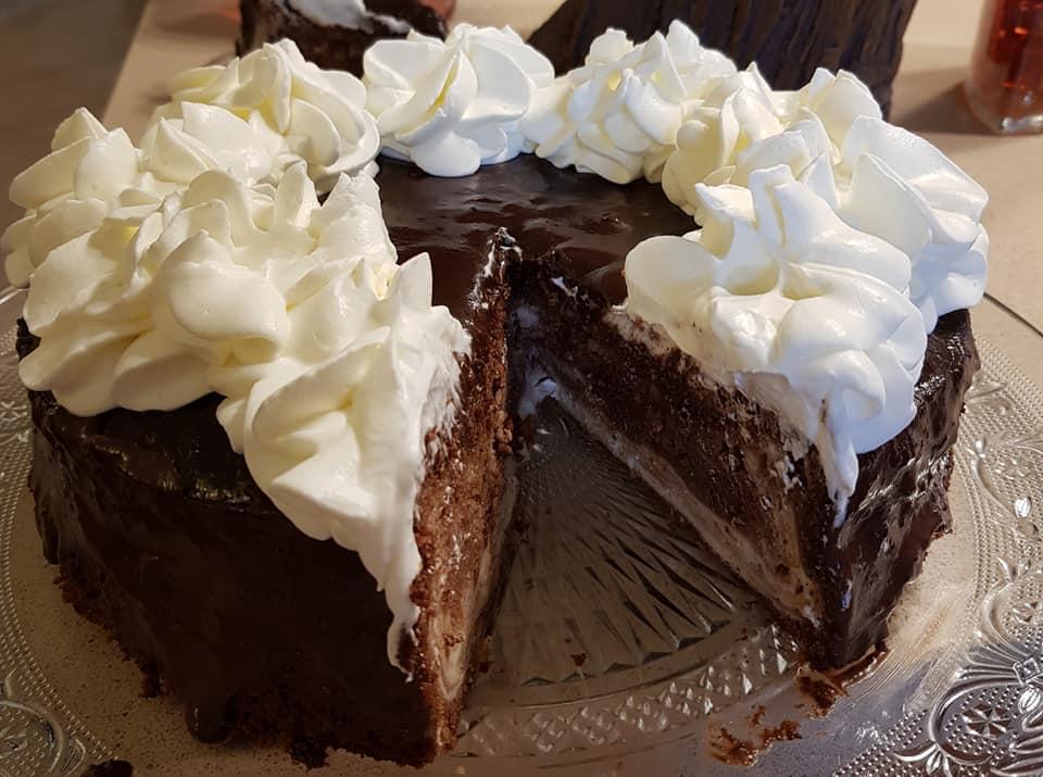 עוגת שוקולד גבינה אפויה_מתכון של נורית יונה