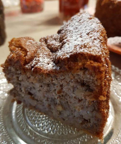 עוגת בננות עשירה בטעמים_מתכון של נורית יונה