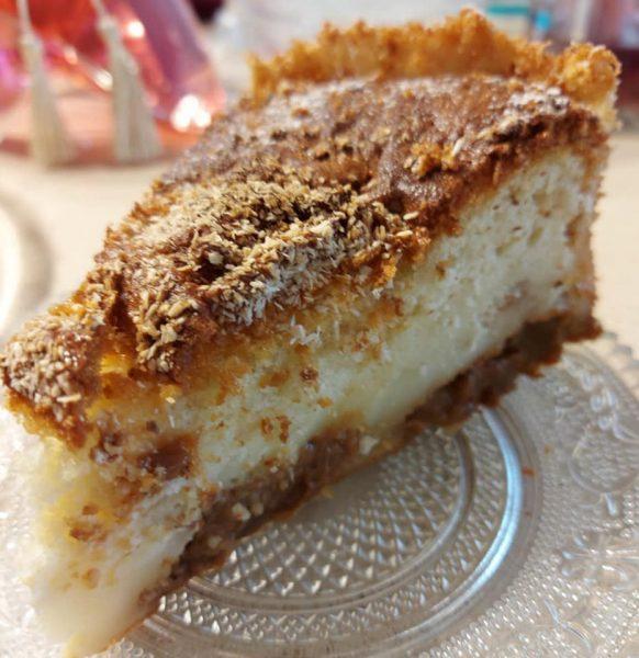עוגת שמנת וריבת חלב מושלמת ליד הקפה_מתכון של נורית יונה
