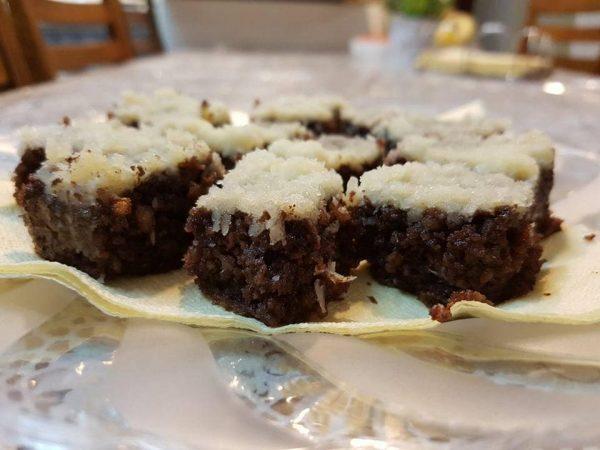 עוגת שוקולד קוקוס כשרה לפסח_מתכון של גלית נחמן