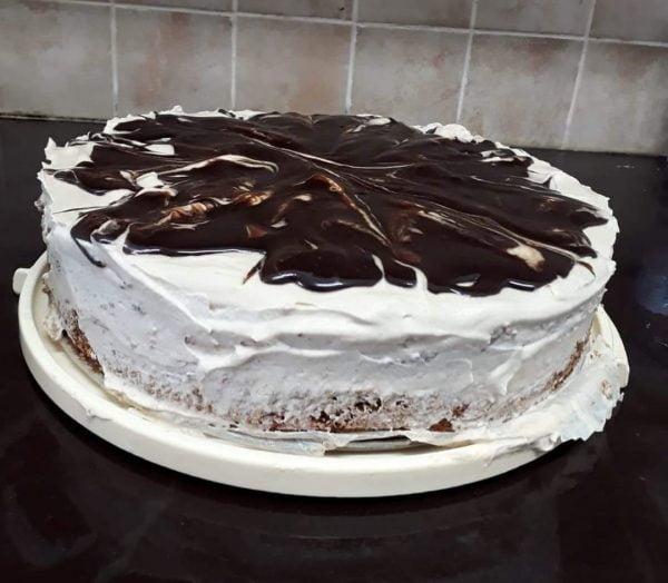 עוגת קרם אגוזים ועוד… מושלמת  לפסח 🍷🥥🥜_מתכון של תהילה גיל