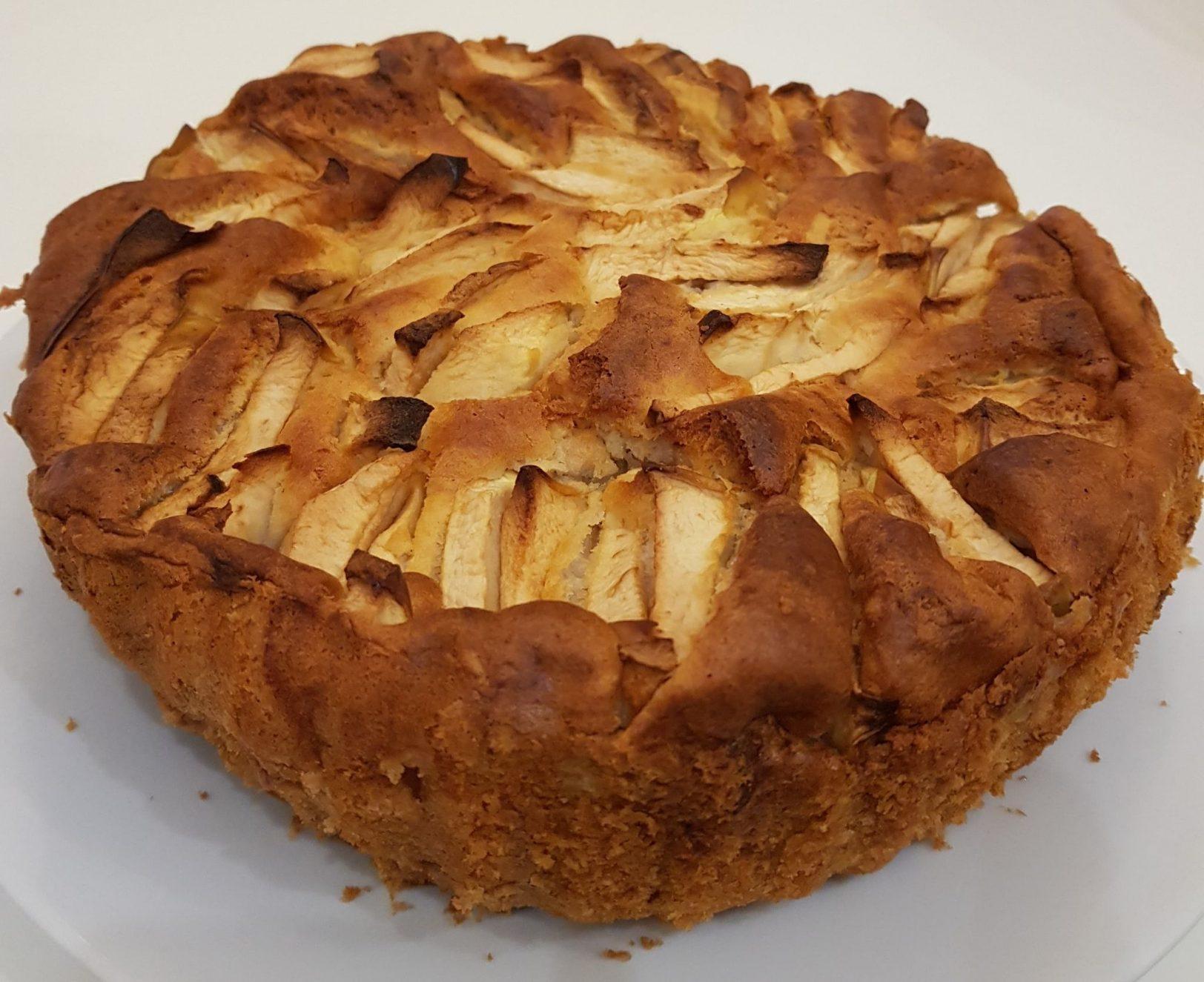 עוגת תפוחים מדהימה לפסח_מתכון של נורית יונה