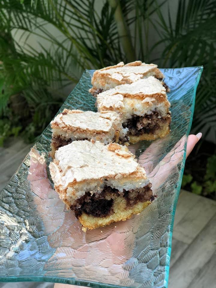 עוגת שכבות טורט / שוקולד/קוקוס_מתכון של אילנה בוכריס