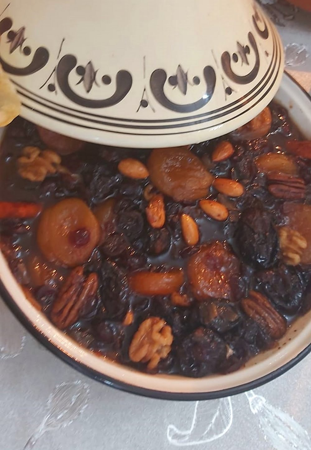 טנזיה פירות יבשים ואגוזים_מתכון של רוז טעים במטבח אוחנה