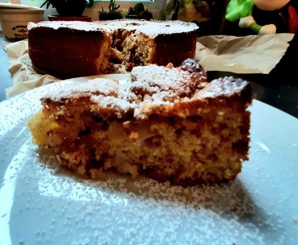 עוגת תפוחים 😋🎊_מתכון של ברכה זולינג
