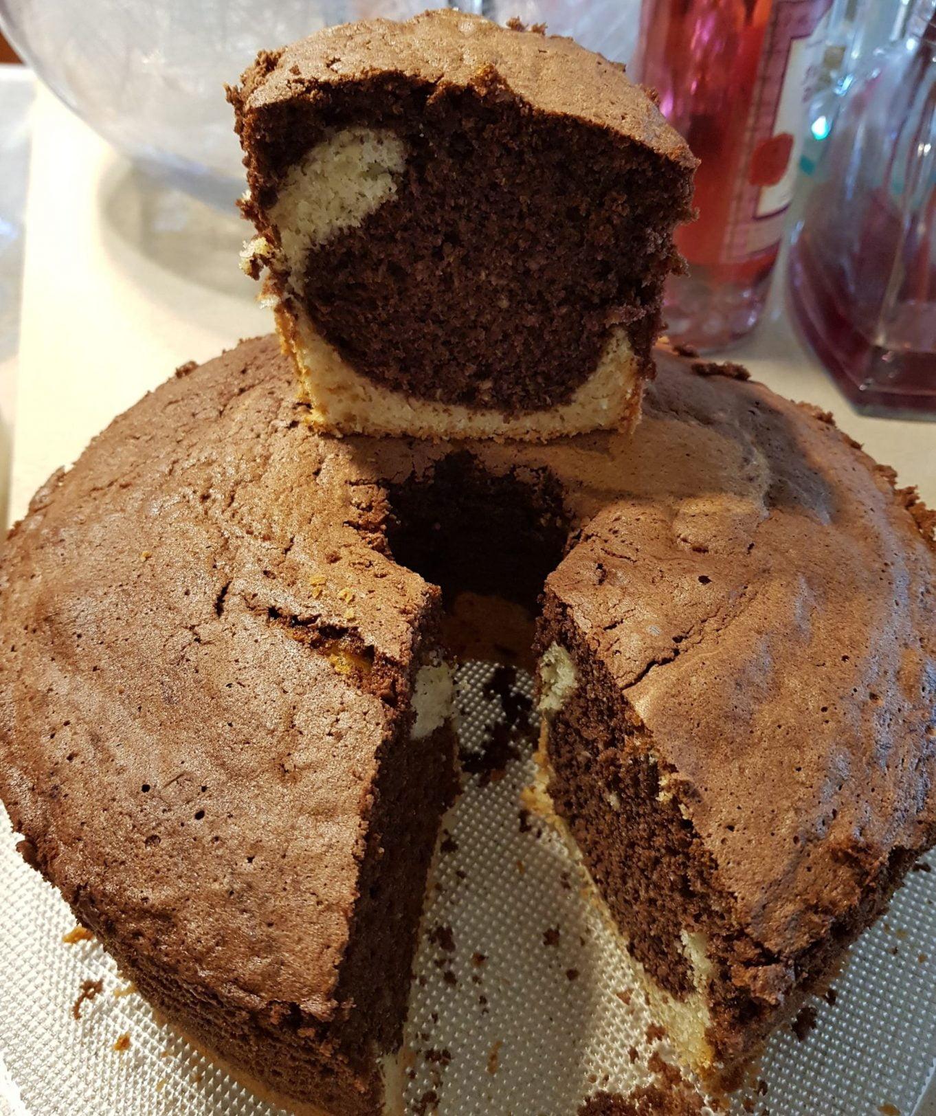 עוגת שיש גבוהה ורכה_מתכון של נורית יונה