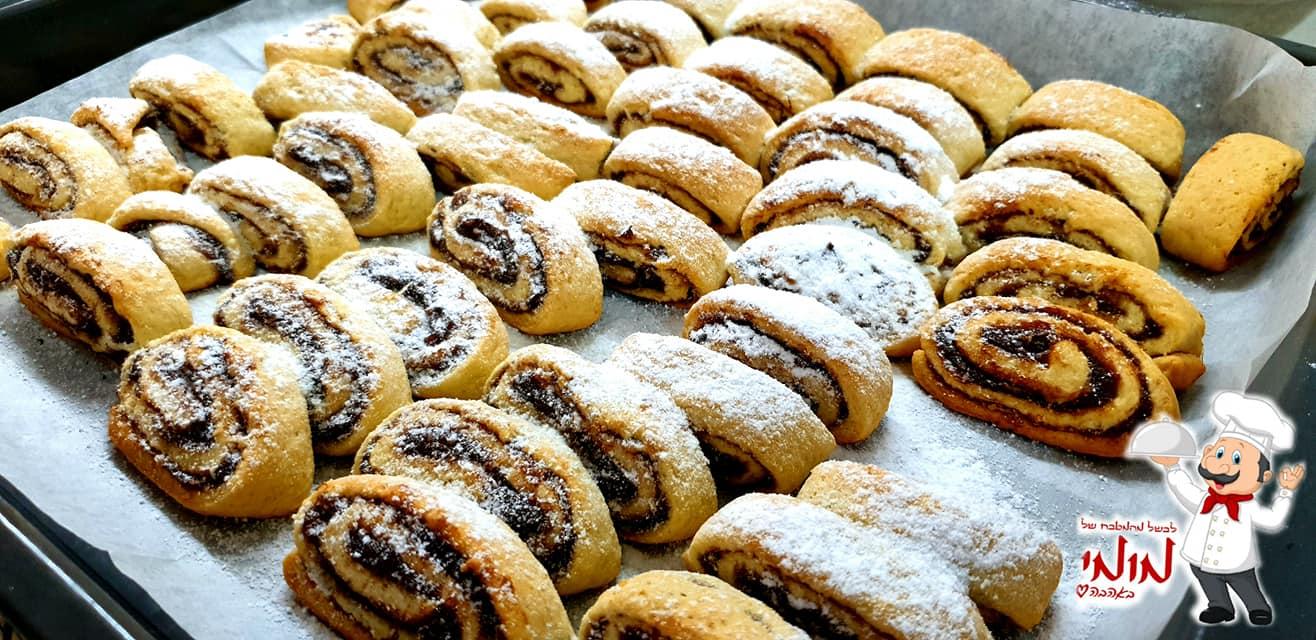 מגולגלות ממולאות בממרח תמרים וקוקוס, מקמח עוגיות של שטיבל_מתכון של טלי כהן שטרלינג