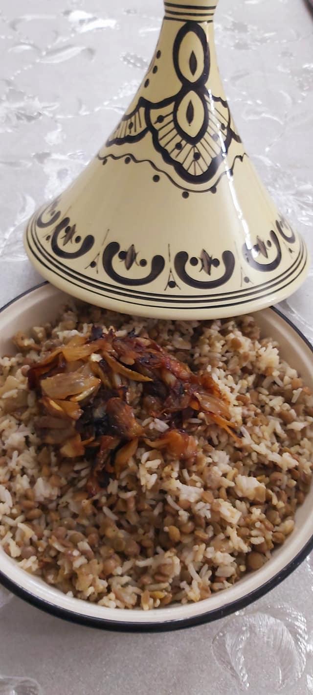 מג'דרה אורז ועדשים_מתכון של רוז טעים במטבח אוחנה