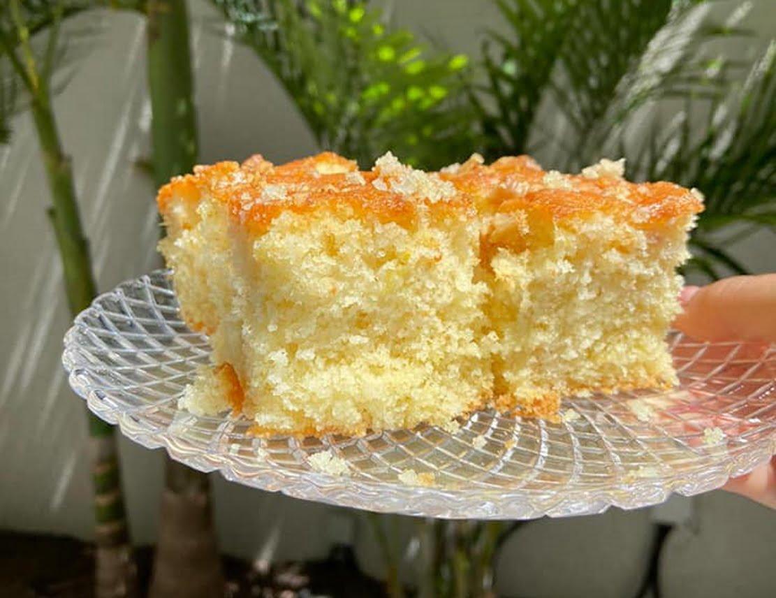 עוגת סולת טעימה 🌺_מתכון של אילנה בוכריס