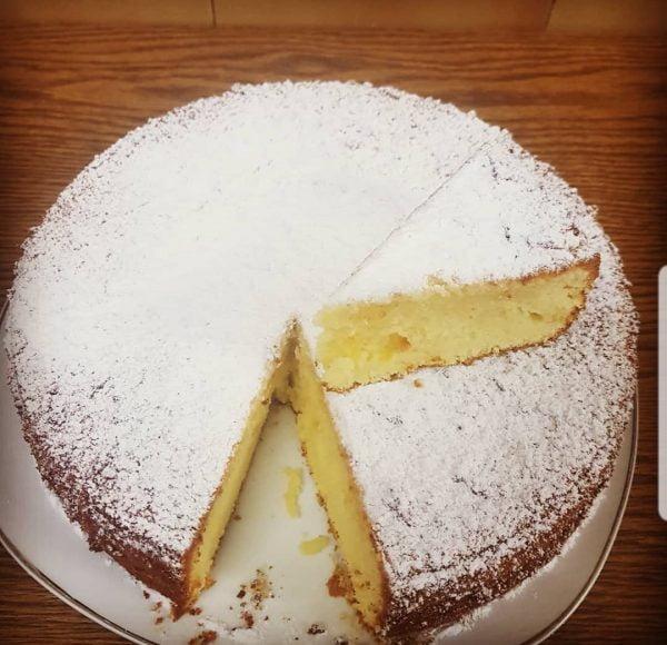 עוגת לימון _מתכון של אבי אלמדוי