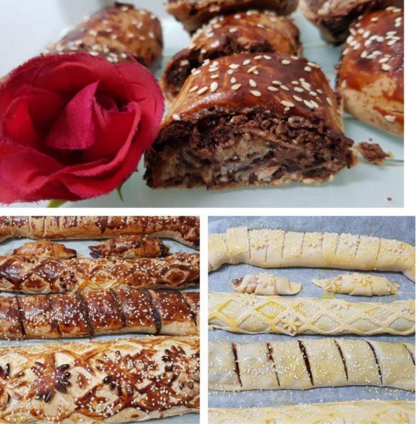 """מתכון כתוב + סרטון המחשה להכנת עוגיות שוקולד ❤ מקמח כשל"""" פ (הכחול לבן )__מתכון של ירדנה ג'נאח"""