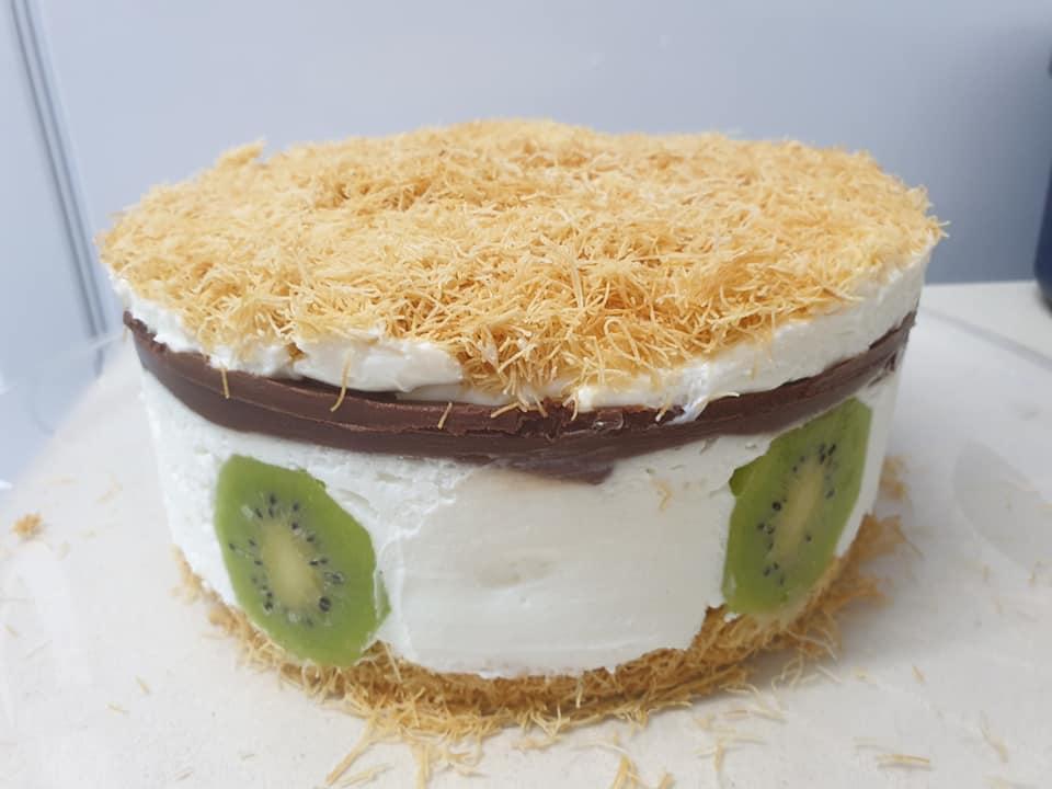 עוגת קדאיף עם מעט שידרוג🙂_מתכון של ירדנה ג'נאח – מאסטר מתכונים