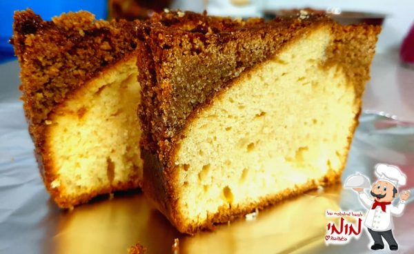 עוגת וניל 🥧מצופה בקרמל קוקוס 🍮_מתכון של טלי כהן שטרלינג – מאסטר מתכונים