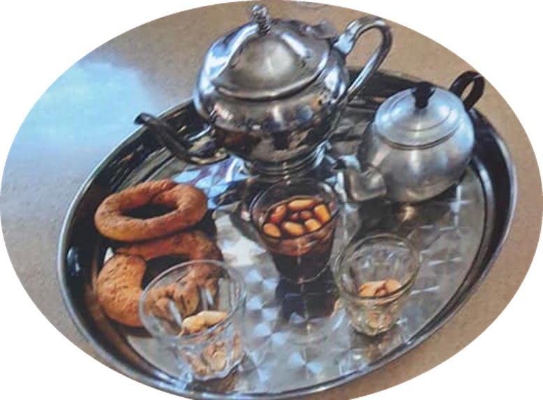 """תה עם בוטנים ( קקווייה )_מתוך חוברת המתכונים הטריפוליטאית של רחל שטיבי ז""""ל – מאסטר מתכונים"""