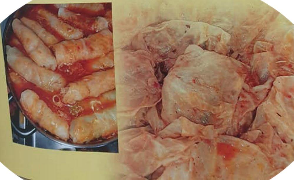 """ירקות ממולאים_מתוך חוברת המתכונים הטריפוליטאית של רחל שטיבי ז""""ל – מאסטר מתכונים"""