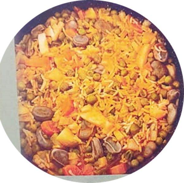 """אורז של פסח_מתוך חוברת המתכונים הטריפוליטאית של רחל שטיבי ז""""ל – מאסטר מתכונים"""