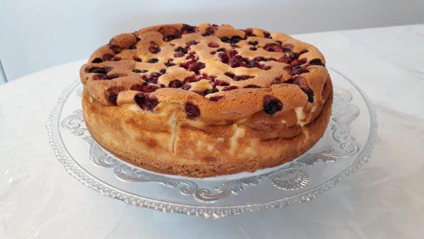 עוגת גבינה בתוספת פירות יער 🍇🍒🍇🍒_מתכון של תהילה גיל – מאסטר מתכונים