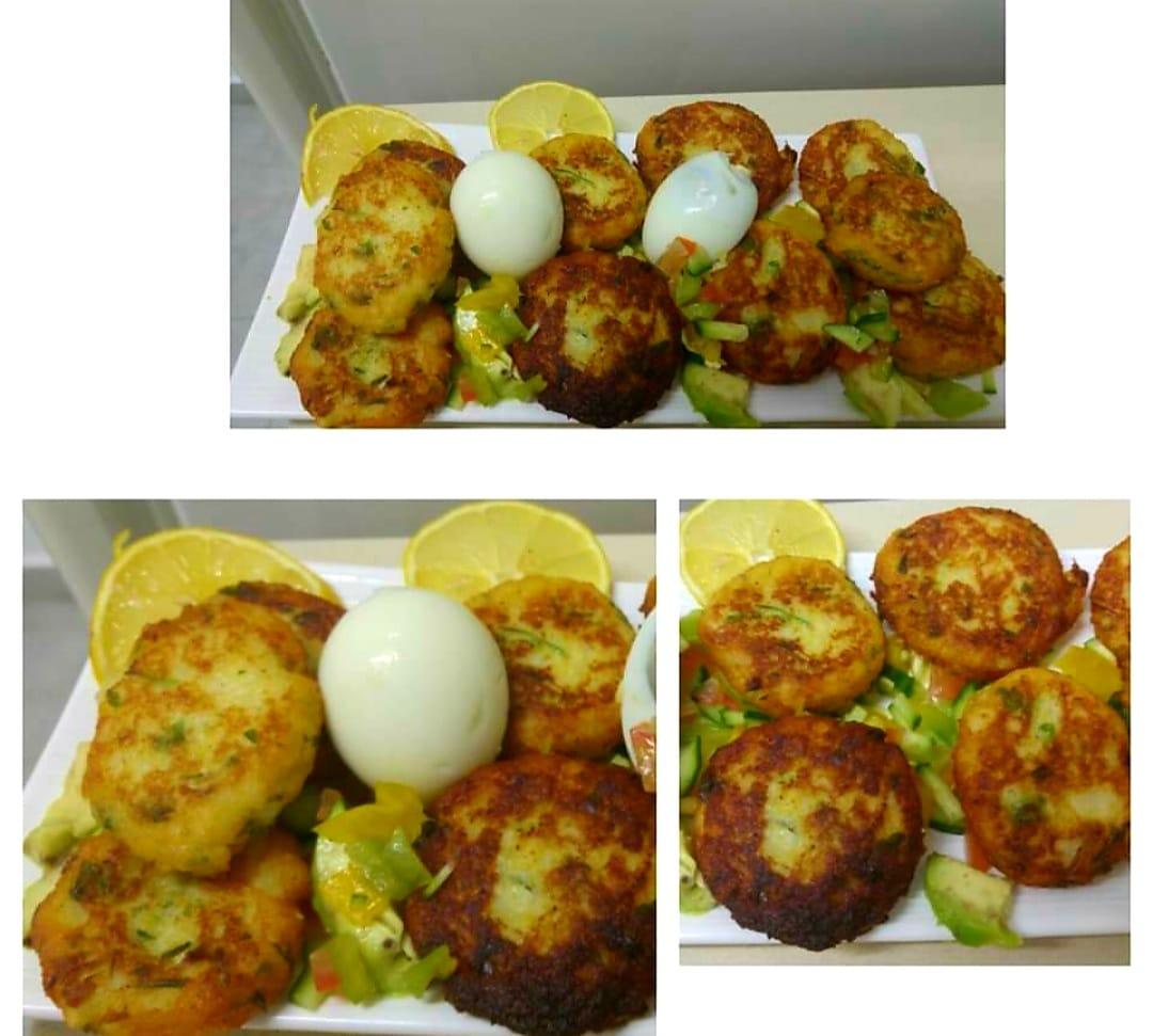 קציצות תפוחי אדמה וירק ❤_מתכון של ירדנה ג'נאח – מאסטר מתכונים