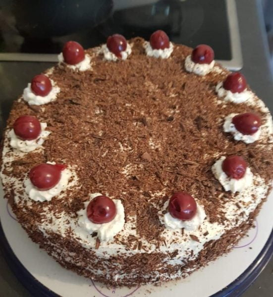 עוגת היער השחור😋_מתכון של ברכה זולינג – מאסטר מתכונים