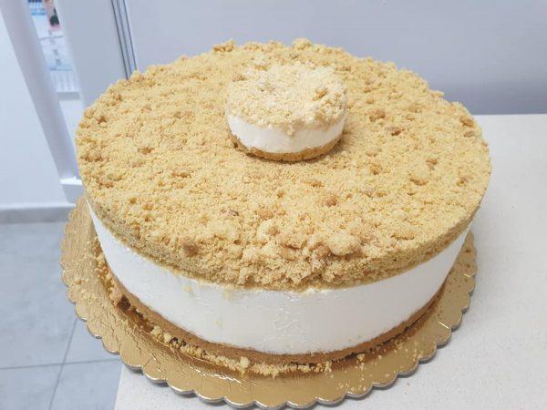 עוגת גבינה פירורים_מתכון של ירדנה ג'נאח – מאסטר מתכונים
