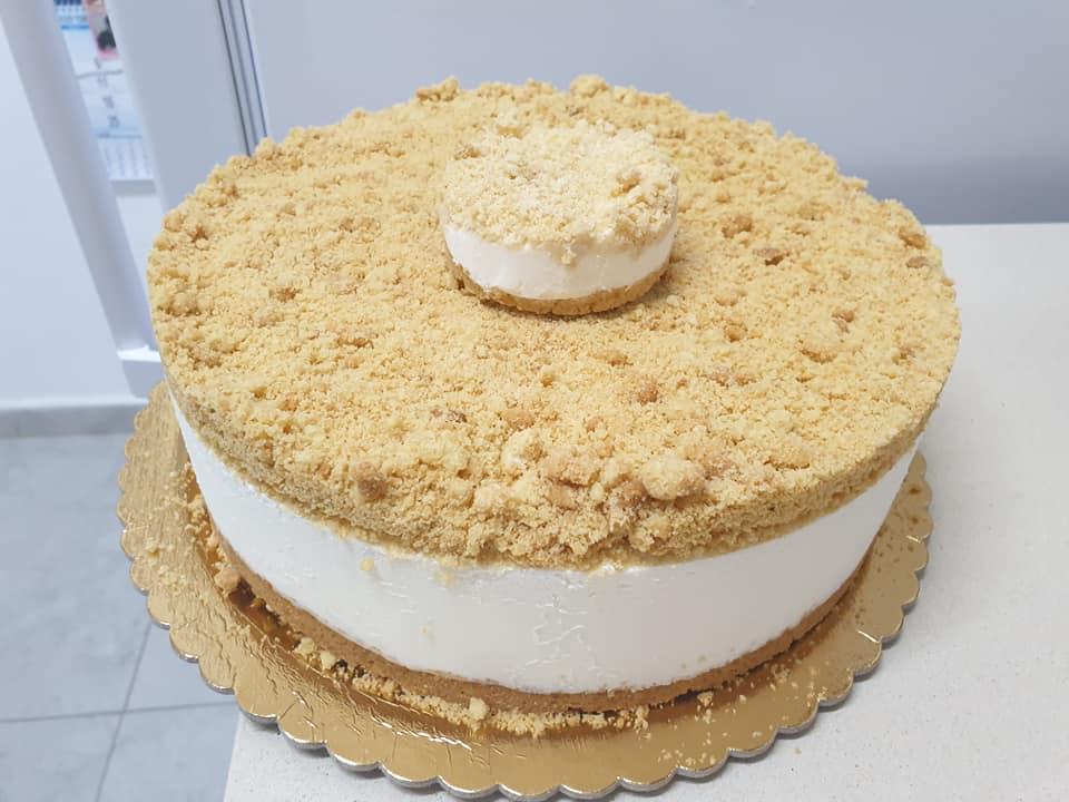 עוגת גבינה ופירורים_מתכון של ירדנה ג'נאח – מאסטר מתכונים