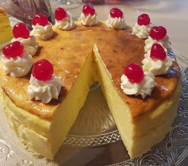 עוגת גבינה אפויה … קצת אחרת _מתכון של נורית יונה – מאסטר מתכונים