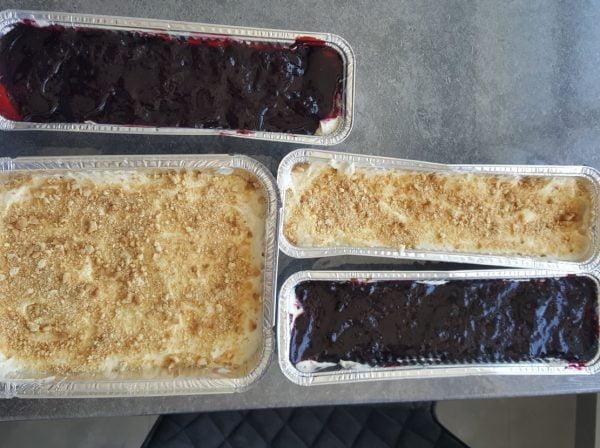 """עוגות גבינה לכבוד חג השבועות_מתכון של עליזה יפרח ע""""י דייויד ביטון- מאסטר מתכונים"""