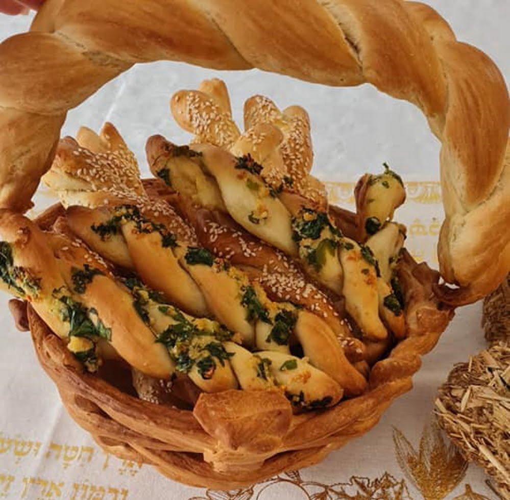 סלסלת לחם לשבועות_מתכון של אילנה בוכריס – מאסטר מתכונים