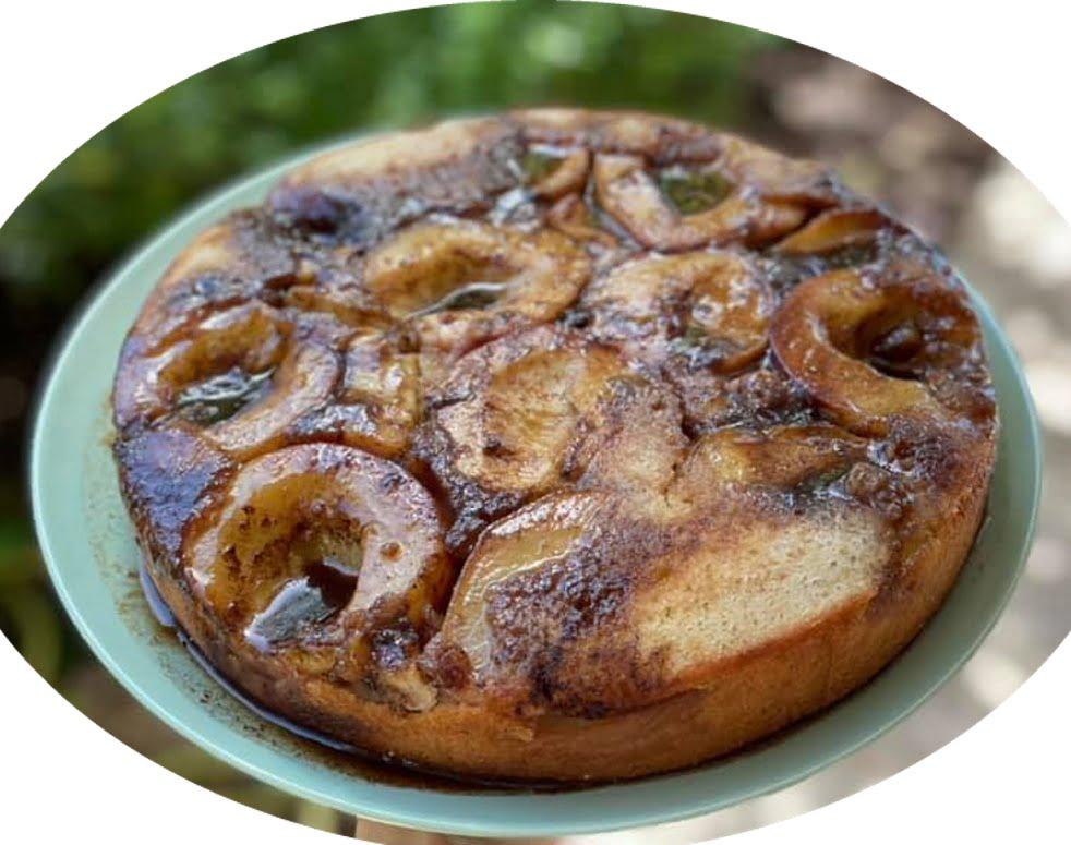 עוגת אפרסקים הפוכה עם הטעמים הכי מפנקים שיש_מתכון של גלי אלון בובר – מאסטר מתכונים