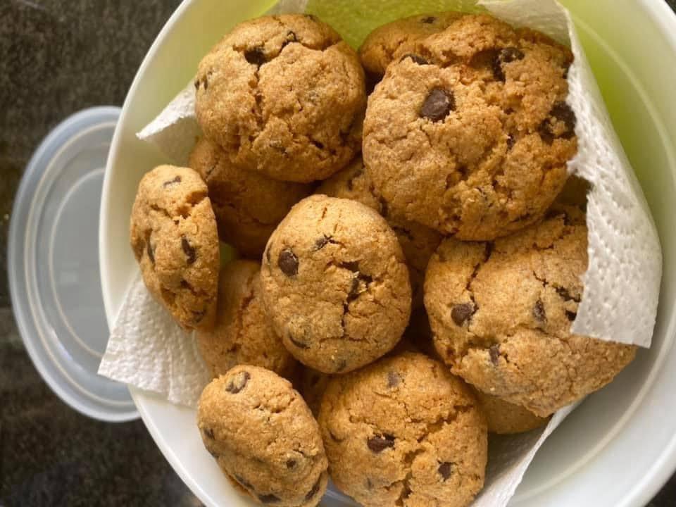עוגיות חמאת בוטנים עם פצפוצי שוקולד טעימות 🔥🔥🔥🔥_מתכון  של מרי שקד שירזי – מאסטר מתכונים