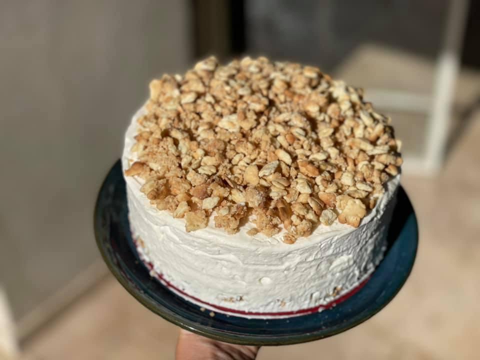 עוגת גבינה פירורים כל כך גבוהה ומרשימה_מתכון של ברכה זולינג – מאסטר מתכונים