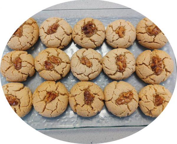 עוגיות טחינה ואגוזים❤_מתכון של אילנה בוכריס – מאסטר מתכונים