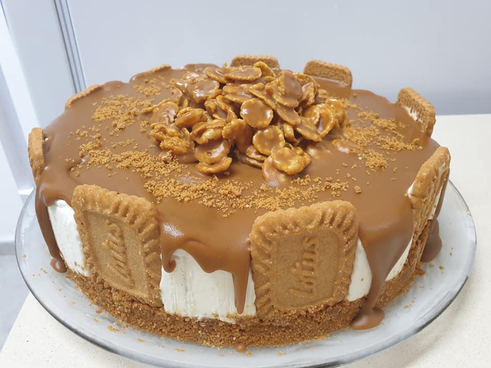 עוגת לוטוס קרה ❤_מתכון של ירדנה ג'נאח – מאסטר מתכונים