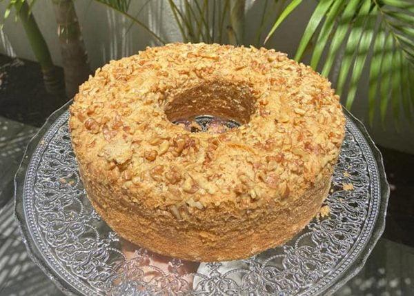 עוגת קינמון ואגוזים💖_מתכון של אילנה בוכריס – מאסטר מתכונים