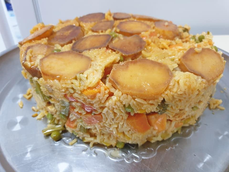 תבשיל אורז ירקות וחזה עוף ❤_מתכון של ירדנה ג'נאח – מאסטר מתכונים