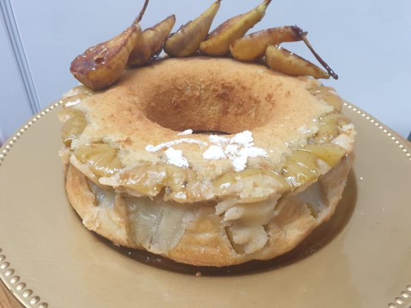 עוגת אגסים ❤_מתכון של ירדנה ג'נאח – מאסטר מתכונים