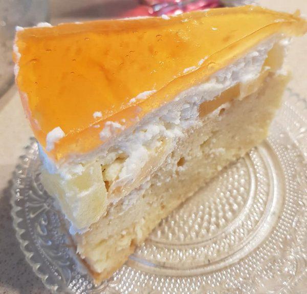 עוגת פרי אננס ג'לי וקרם  קייצית קלילה ומענגת_מתכון של נורית יונה – מאסטר מתכונים