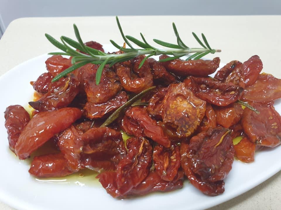 עגבניות שרי מיובשות ❤_מתכון של ירדנה ג'נאח – מאסטר מתכונים